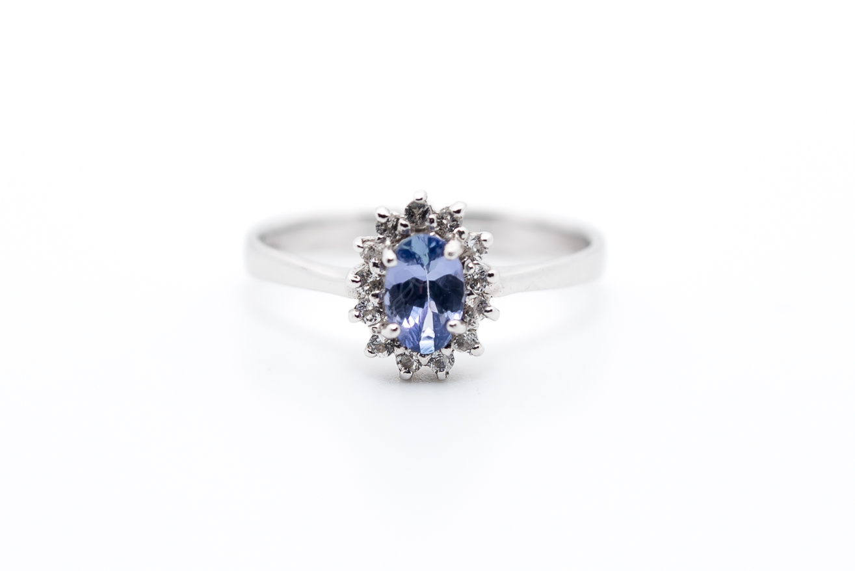 tanzanit biżuteria - pierścionki